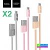 สายชาร์จ Micro USB (5 pin) Hoco X2 Rapid Charging ราคา 64 บาท ปกติ 180 บาท