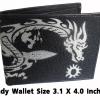 กระเป๋าสตางค์ปลากระเบน ลายมังกรขาวสงบเรียบร้อย Line id : 0853457150