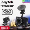 กล้องติดรถยนต์ Anytek Q69+ 2 กล้อง หน้า/หลัง ราคา 1,680 บาท ปกติ 4,200 บาท