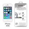 ฟิล์มกระจก iPhone 4/4s ป้องกันคนแอบมอง Excel ความแข็ง 9H