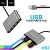 USB HUB Hoco HB3 4USB ราคา 210 บาท ปกติ 550 บาท