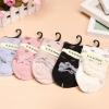 S336 **พร้อมส่ง** (ปลีก+ส่ง) ถุงเท้าแฟชั่นเกาหลี ข้อยาว คละ 5 สี มี 10 คู่/แพ็ค เนื้อดี งานนำเข้า(Made in China)