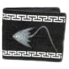 กระเป๋าสตางค์ปลากระเบน 2 มุขคู่ ชาย Line id : 0853457150
