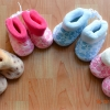 U015**พร้อมส่ง** (ปลีก+ส่ง) ถุงเท้ากึ่งรองเท้า สำหรับวัยหัดเดิน (1-2 ปี) ผูกเชือก พื้นยางอย่างดี กันลื่น งานนำเข้า ( Made in China)