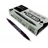 ปากกาเขียนถุงพลาสติก ชนิด 2 หัว สีดำ