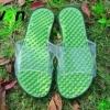 K017-GR **พร้อมส่ง** (ปลีก+ส่ง) รองเท้านวดสปา เพื่อสุขภาพ ปุ่มเล็ก สำหรับผู้หญิง สีเขียว ส่งคู่ละ 120 บ.