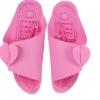 K018-PK **พร้อมส่ง** (ปลีก+ส่ง) รองเท้านวดสปา เพื่อสุขภาพ ปุ่มเล็ก แบบถอดประกอบได้ สีชมพู ส่งคู่ละ 80 บ.