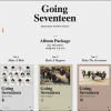 Seventeen - Mini Album Vol.3 [Going Seventeen] แบบ set ทั้ง 3 เวอร์ชั่น