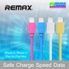 สายชาร์จ iPhone 5 REMAX Safe Charge Speed Data Cable RC-006i แท้ 100%