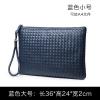 พร้อมส่ง กระเป๋าคลัทซ์ผู้ชายแฟขั่นเกาหลี ไซร์ 36*24*2 ใส่ A4 รหัส Man-1225-A4 สีน้ำเงิน *ไม่มีสายยาว 1 ใบ