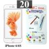 ฟิล์มกระจก iPhone 6/6s 9MC แผ่นละ 28 บาท (แพ็ค 20)