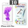 ฟิล์มกระจก iPhone 6/6s Plus 9MC แผ่นละ 29 บาท (แพ็ค 10)