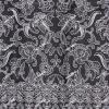 ผ้าถุงขาวดำ ec13046bk
