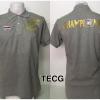 เสื้อโปโล ทีมชาติไทย ลาย Champions 2015 สีเทา TECG