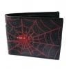 กระเป๋าหนังปลากระเบน ใยแมงมุง 2 พับ สีแดง