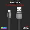 สายชาร์จ iPhone 5 REMAX METAL RC-044i ราคา 89 บาท ปกติ 220 บาท