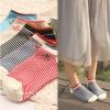 S554 **พร้อมส่ง** (ปลีก+ส่ง) ถุงเท้าแฟชั่น ข้อตาตุ่ม คละ5 สี มี 10 คู่ต่อแพ็ค เนื้อดี งานนำเข้า