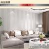 Wallpaper 3มิติ ลายยุโรปสไตล์ Wall-WE04 สีขาว