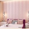 Wallpaper 3มิติ ลายยุโรปสไตล์ Wall-WE04 สีชมพู