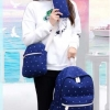 Pre-order กระเป๋าเป้สะพายหลัง เซ็ต 3 ใบ แฟชั่นเกาหลีน่ารัก Fashion bag รหัส G-319