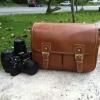 กระเป๋ากล้อง KR01 Camel leather (M)