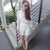 เสื้อผ้าแฟชั่น สุด Chic จั๊มสูทแขนยาว ทรงบอดี๊คอน รหัส RN59_1