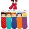 A006 **พร้อมส่ง**(ปลีก+ส่ง) ถุงเท้าแฟชั่นเกาหลี โบว์ ข้อสูงมี 5 แบบ เนื้อดี งานนำเข้า( Made in Korea)