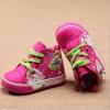 รองเท้าเด็กหุ้มข้อ สีบานเย็นไชส์ 22