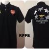 เสื้อโปโล อาร์เซนอล สีดำ RPFB