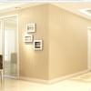 Wallpaper 3มิติ moon light Wall-WE01 สีครีม