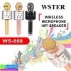 ลำโพง บลูทูธ+ไมโครโฟน WSTER WS-858 ราคา 420 บาท ปกติ 1,050 บาท
