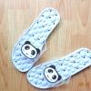 K020-ฺSBL2**พร้อมส่ง** (ปลีก+ส่ง) รองเท้านวดสปา เพื่อสุขภาพ ปุ่มใหญ่สลับเล็ก (การ์ตูน) สีฟ้าลายหมีแพนด้า ส่งคู่ละ 150 บ.