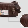 กระเป๋ากล้อง KR01-L Coffee leather