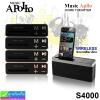 ลำโพง บลูทูธ Apollo S4000 ราคา 340 บาท ปกติ 850 บาท