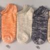 S606 **พร้อมส่ง** (ปลีก+ส่ง) ถุงเท้าแฟชั่น ข้อตาตุ่ม คละ 5 สี เนื้อดี งานนำเข้า มี 10 คู่ต่อแพ็ค