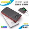 PINENG PN-963 Power bank แบตสำรอง 10000 mAh แท้ 100% ราคา 425 บาท ปกติ 1,260 บาท