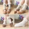 ถุงเท้าวินเทจสไตล์ผู้หญิง แสนน่ารัก สี 4 สี