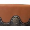 กระเป๋าสตางค์ยาว หนังวัวแท้ เกรด A สีน้ำตาล แบบด้าน Styles vintage