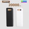 Remax Proda PR1-017 Power bank 20000 mAh แบตสำรอง มีจอ LCD ลดเหลือ 519 บาท ปกติ 1,600 บาท