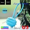 สายชาร์จ Micro USB (5 pin) Hoco U3 Micro charge & Data ราคา 104 บาท ปกติ 275 บาท
