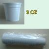 ถ้วยพลาสติก 3 ออนซ์ 1 แพคมี 50 ใบ