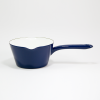 14cm. Enamel Pan (Midnight Blue)