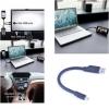 สายชาร์จแบบแข็งตั้งได้ Flexible USB Cable to Micro usb แบบAndroid( 20cm )
