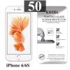 ฟิล์มกระจก iPhone 6/6s Excel แผ่นละ 17 บาท (แพ็ค 50)