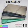 ORSEN E14 By Eloop Power bank แบตสำรอง 20000 mAh แท้ ราคา 579 บาท ปกติ 1,850 บาท