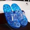 K022-BL **พร้อมส่ง** (ปลีก+ส่ง) รองเท้านวดสปา เพื่อสุขภาพ ปุ่มแม่เหล็ก สีน้ำเงิน ส่งคู่ละ 190 บ.