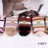 S352 **พร้อมส่ง** (ปลีก+ส่ง) ถุงเท้าแฟชั่นเกาหลี ข้อยาว คละ 5 สี มี 10 คู่/แพ็ค เนื้อดี งานนำเข้า(Made in China)