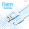 สายชาร์จ Micro USB Remax Lovely RC-010m แท้ 100% ราคา 89 บาท ปกติ 250 บาท