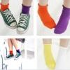 A047**พร้อมส่ง**(ปลีก+ส่ง) ถุงเท้าแฟชั่นเกาหลี ข้อยาว มี 11 สี เนื้อดี งานนำเข้า( Made in Korea)