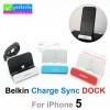ที่ชาร์จ Belkin Charge Sync DOCK For iPhone 5 ลดเหลือ 475 บาท ปกติ 1,185 บาท